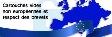 Cartouches vides européennes